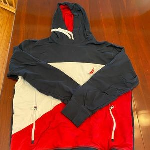 Nautical Tricolor Hoodie